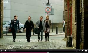 Left to right: Ben, Brett, James and Ellie